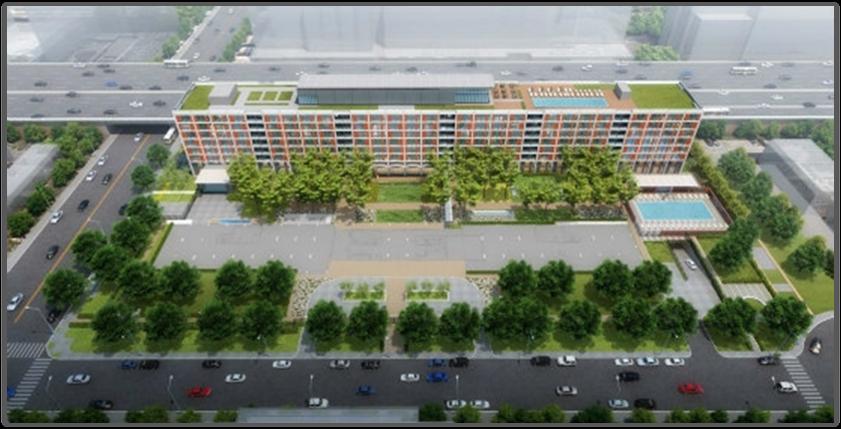 The Kiley overhead rendering